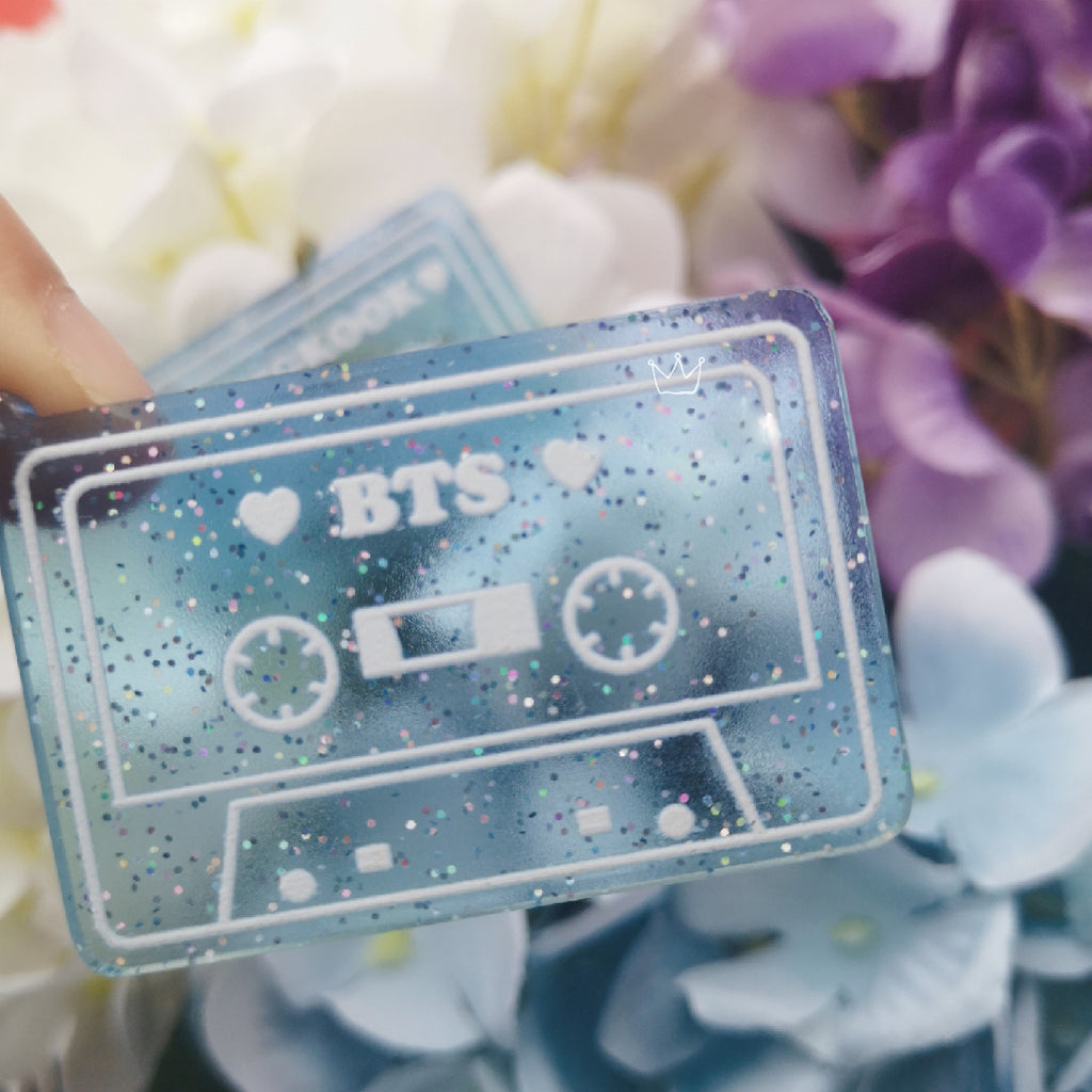 BTS Map Of The Soul: 7 Cassette Keychain