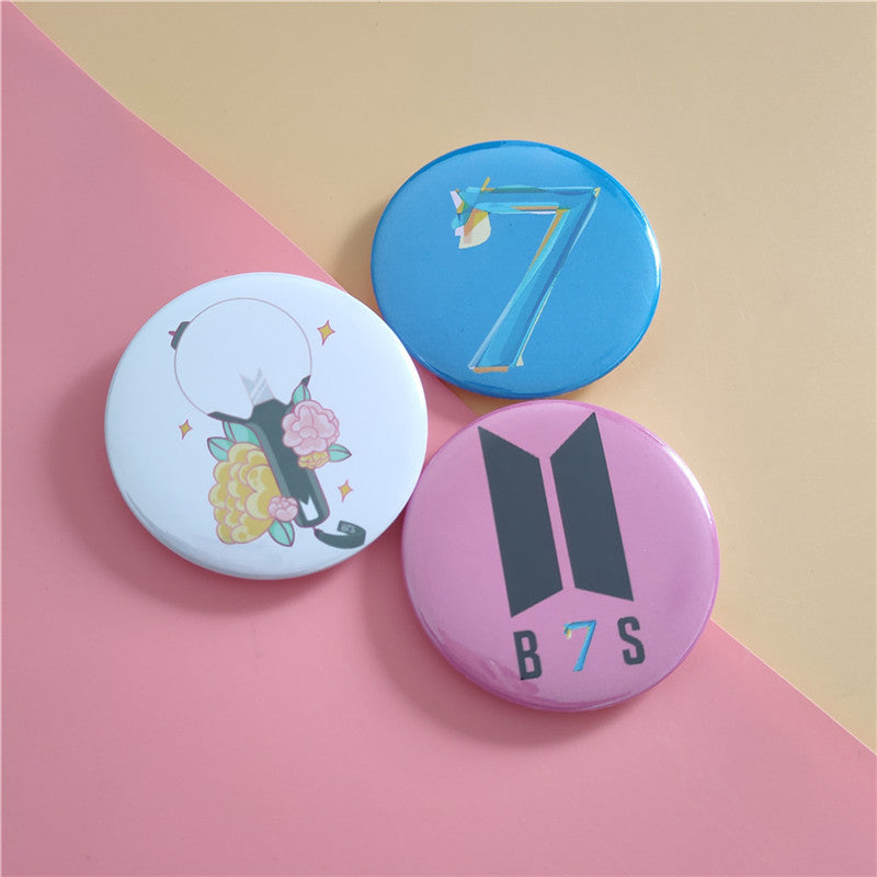 BTS Map Of The Soul: 7 Assorted Badge
