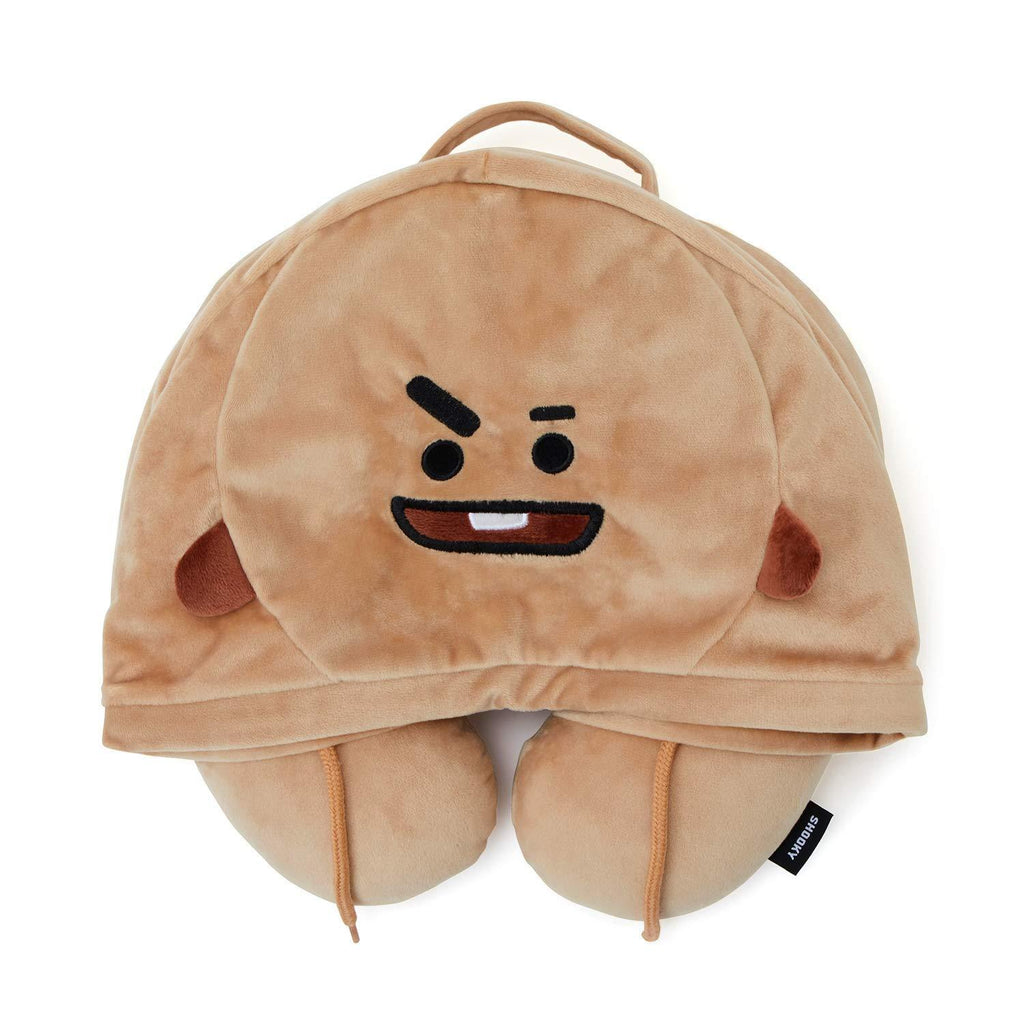 BT21 Neck Pillow- SHOOKY Plushie Lunar Noona