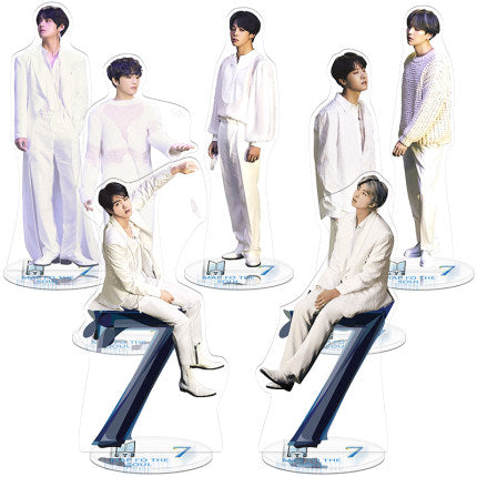 BTS Map Of The Soul: 7 Concept Photo Version 1 Standing Figures
