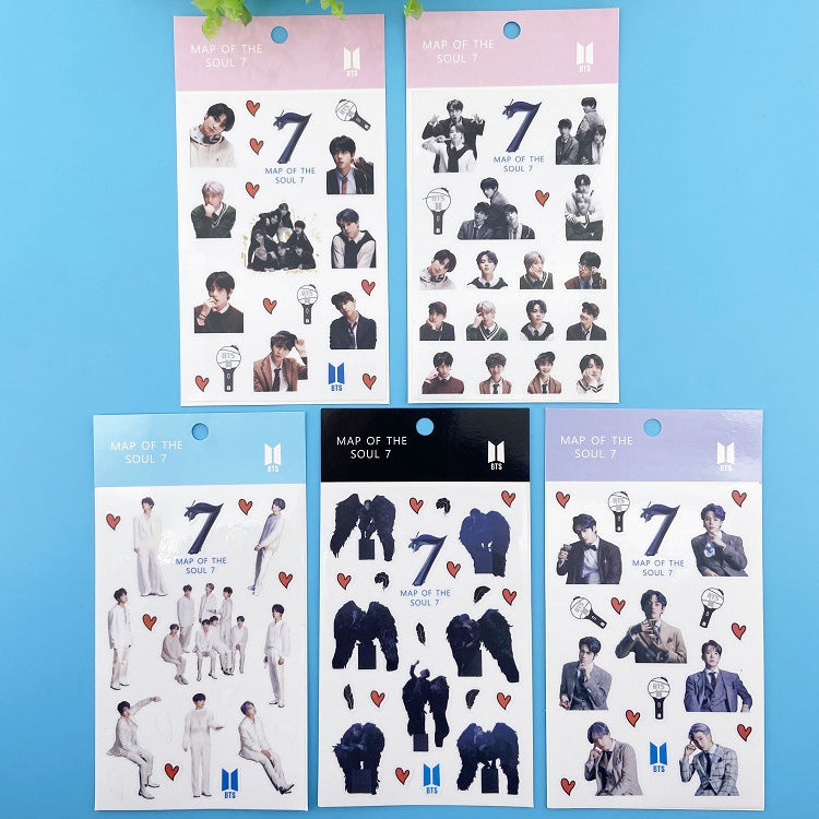 BTS Map Of The Soul: 7 Sticker Assortment Set