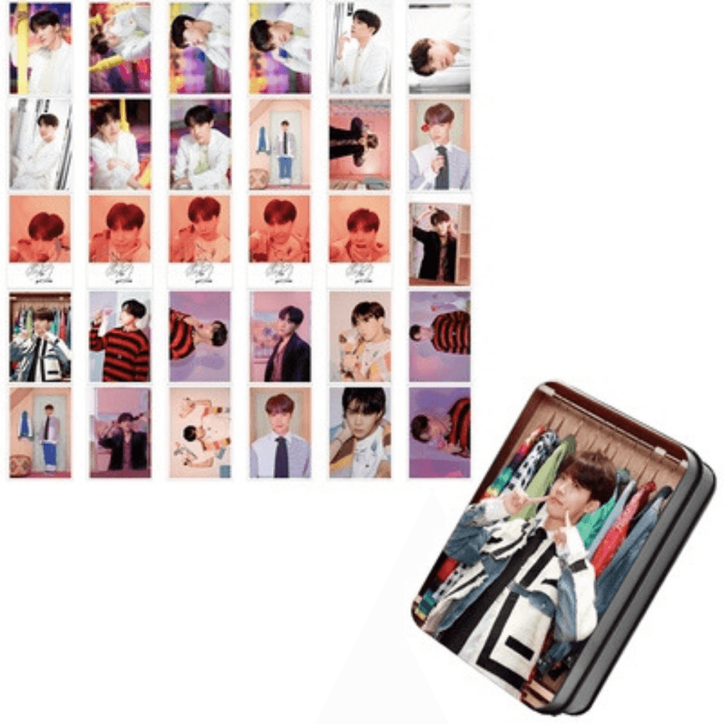 "BTS Map Of The Soul: Persona ""Photoshoot"" Member 30 PC Photocards- J-HOPE Photocard Lunar Noona"