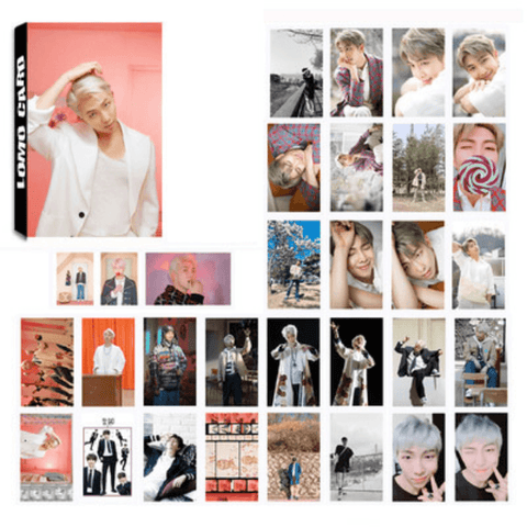 "BTS Map Of The Soul: Persona ""Concept Photos"" Member 30 PC LOMO Photocards- RM Photocard Lunar Noona"