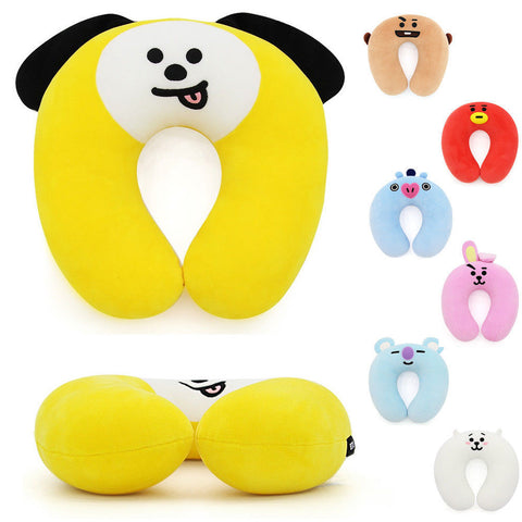BT21 Travel Neck Pillow