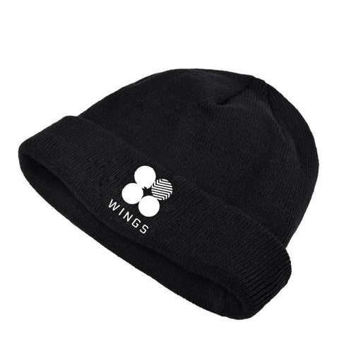 BTS Wings Beanie Hats Lunar Noona
