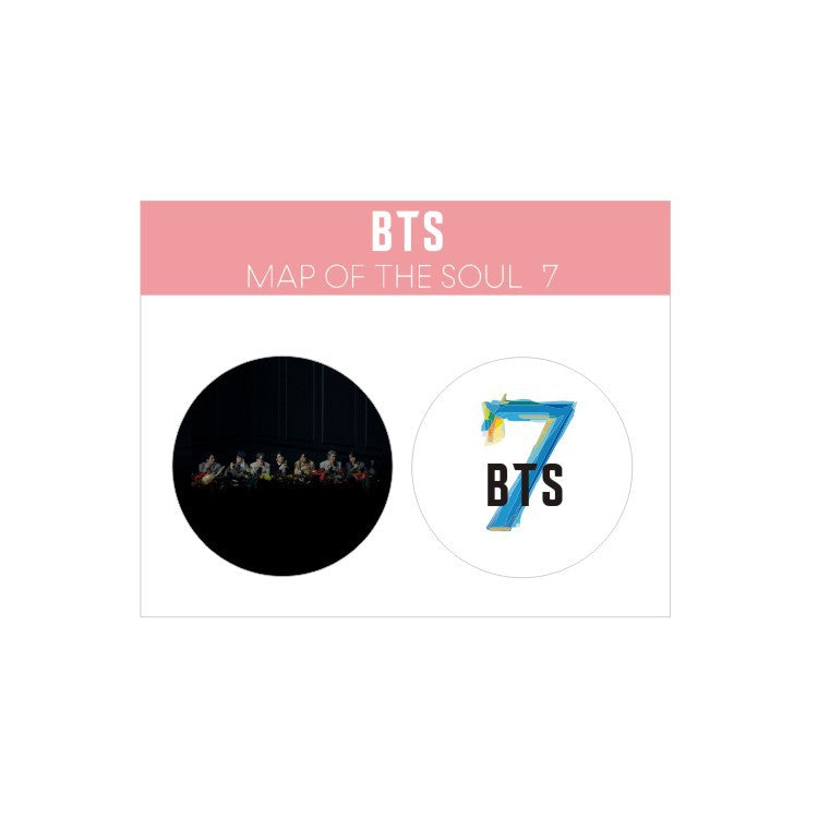 BTS Map Of The Soul: 7 Set Of 2 Album Pins