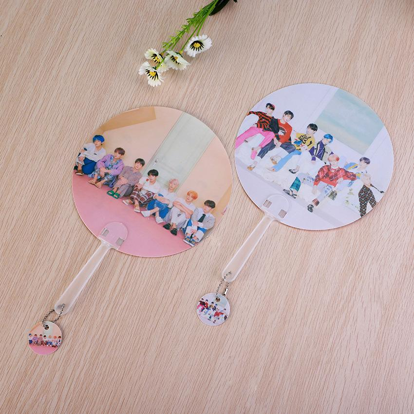 "BTS Map Of The Soul: Persona ""Version 3 & 4"" All Member Chained Fan Accessories Lunar Noona"
