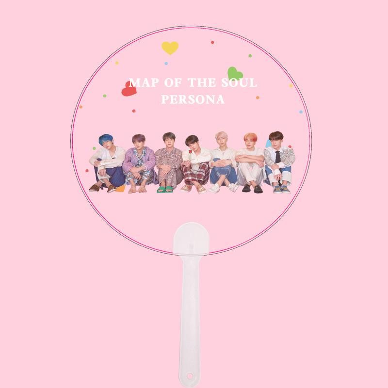 "BTS Map Of The Soul: Persona ""Roses"" All Member Transparent Fan Accessories Lunar Noona"