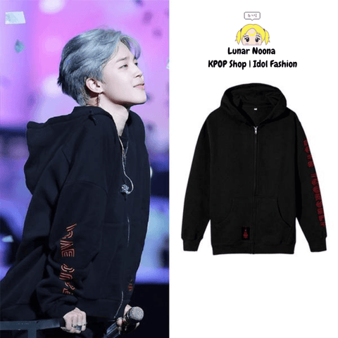 BTS Love Yourself Jacket- JIMIN Hoodies Lunar Noona