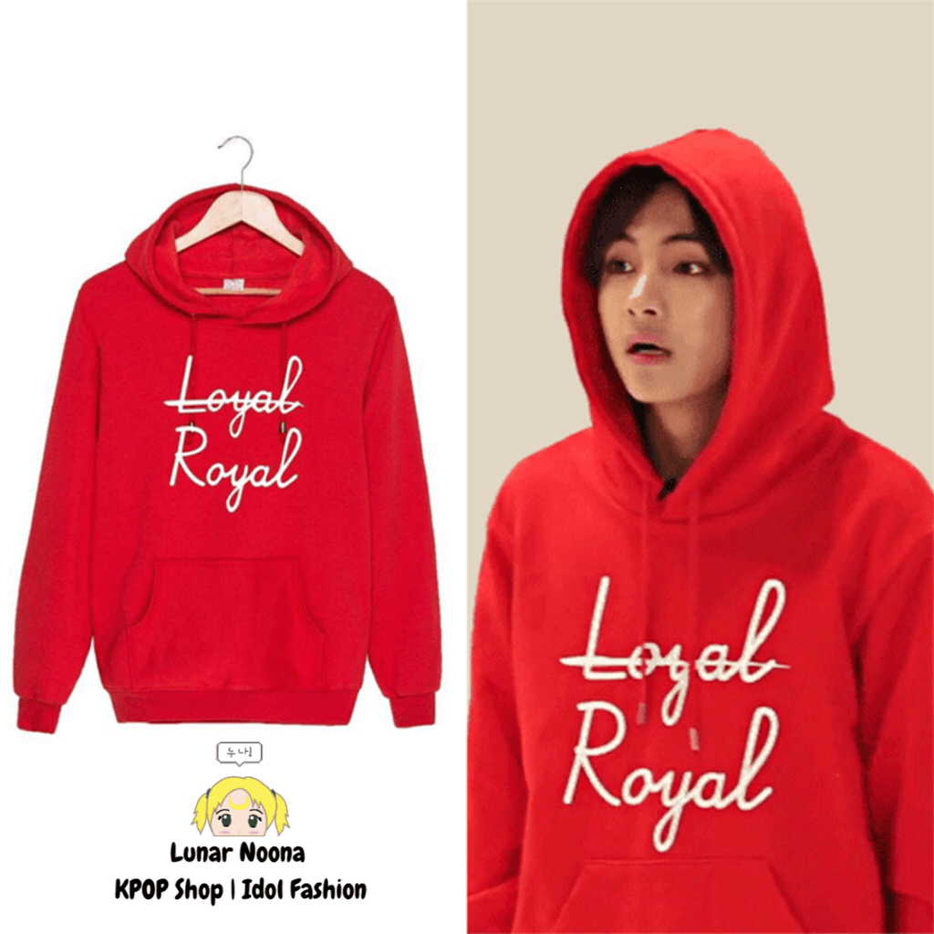 BTS Loyal Royal Hoodie- V Hoodies Lunar Noona