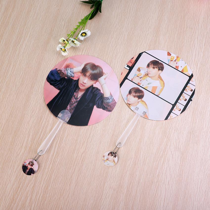"BTS Map Of The Soul: Persona ""Version 1 & 2"" Member Chained Fan- J-HOPE Accessories Lunar Noona"