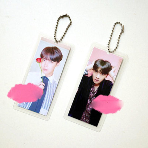 "BTS Map Of The Soul: Persona ""Persona Photoshoot"" Member Keychain- J-HOPE Keychain Lunar Noona"