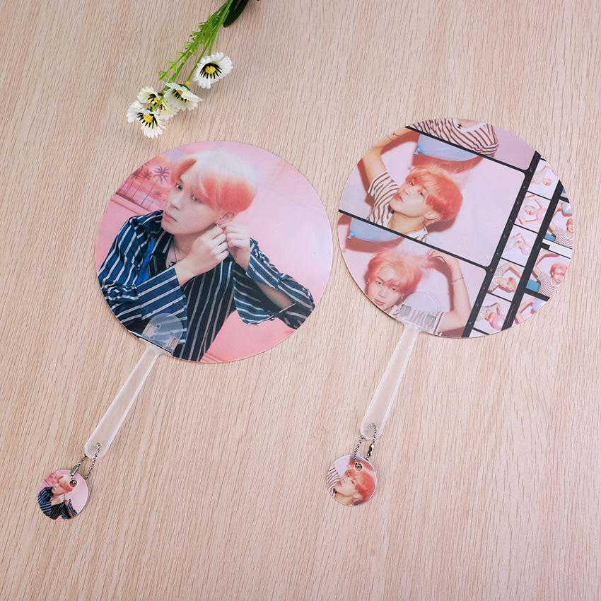 "BTS Map Of The Soul: Persona ""Version 1 & 2"" Member Chained Fan- JIMIN Accessories Lunar Noona"