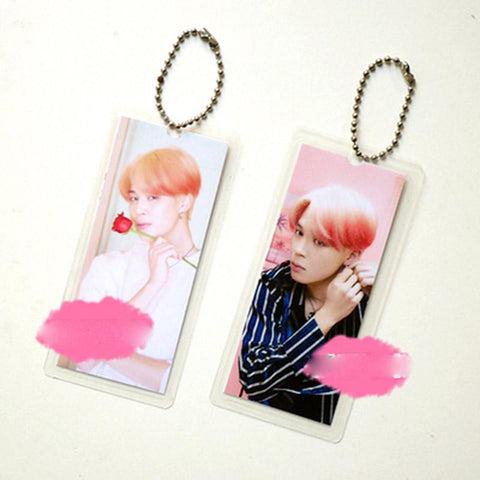 "BTS Map Of The Soul: Persona ""Persona Photoshoot"" Member Keychain- JIMIN Keychain Lunar Noona"