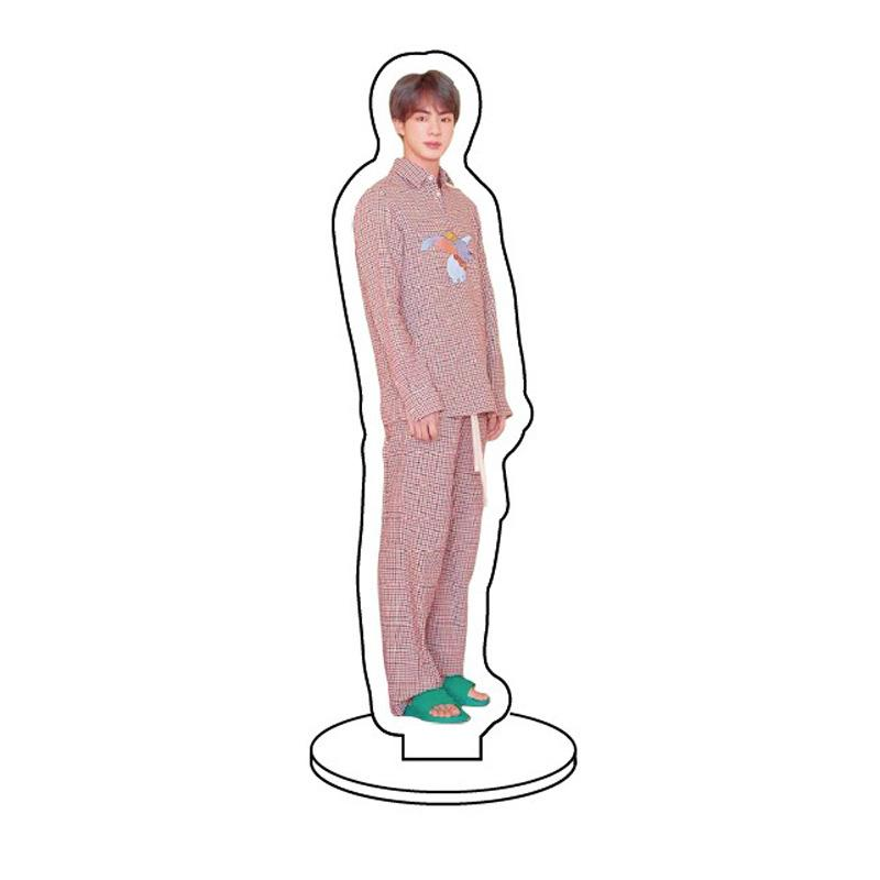BTS Map Of The Soul: Persona Member Transparent Standing Figure- JIN Accessories Lunar Noona