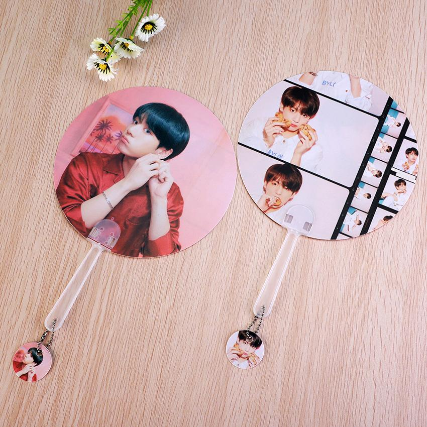 "BTS Map Of The Soul: Persona ""Version 1 & 2"" Member Chained Fan- JUNGKOOK Accessories Lunar Noona"