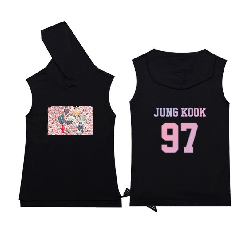 BTS Love Yourself Speak Yourself Concert Sleeveless T-Shirt Short Lunar Noona JUNGKOOK M