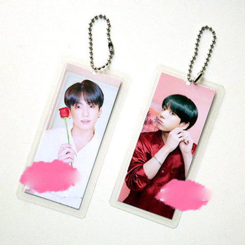 "BTS Map Of The Soul: Persona ""Persona Photoshoot"" Member Keychain- JUNGKOOK Keychain Lunar Noona"