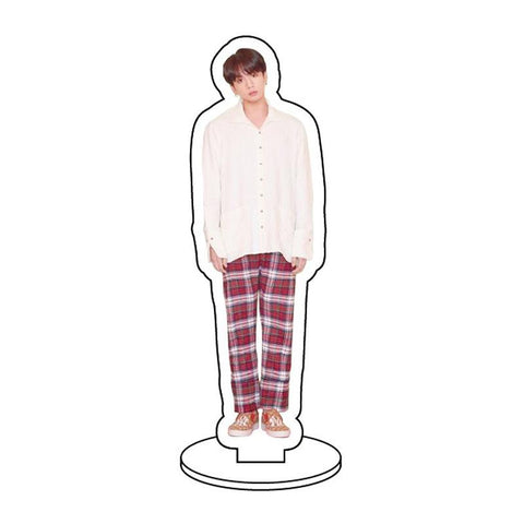 BTS Map Of The Soul: Persona Member Transparent Standing Figure- JUNGKOOK Accessories Lunar Noona