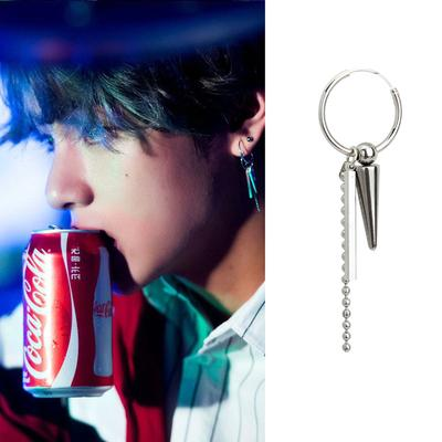 BTS Coca-Cola Photoshoot- V Jewelry Lunar Noona