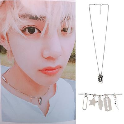 BTS Saipan Guide Necklace- V Jewelry Lunar Noona