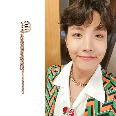 BTS Idol MV Fashion Earring- J-HOPE Jewelry Lunar Noona