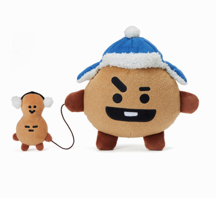 BT21 Christmas Standing Doll- SHOOKY