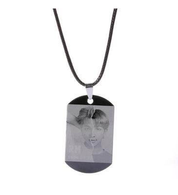 BTS Love Yourself: Answer Member Dog Tag- RM Jewelry Lunar Noona