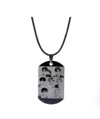 "BTS Love Yourself: Answer ""Concept Photo L Version"" All Member Dog Tag"