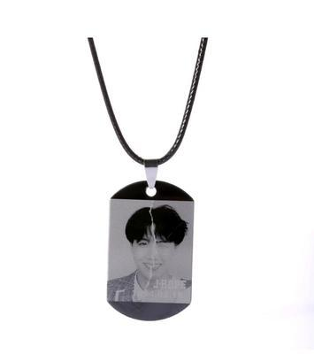 BTS Love Yourself: Answer Member Dog Tag- J-HOPE Jewelry Lunar Noona