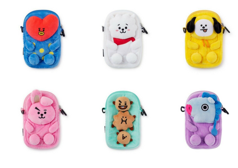 BT21 Coin Phone Travel Bag