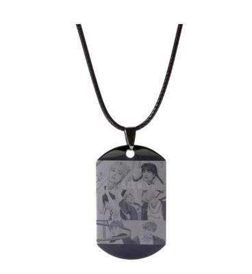 "BTS Love Yourself: Answer ""Concept Photo F Version"" All Member Dog Tag Jewelry Lunar Noona"
