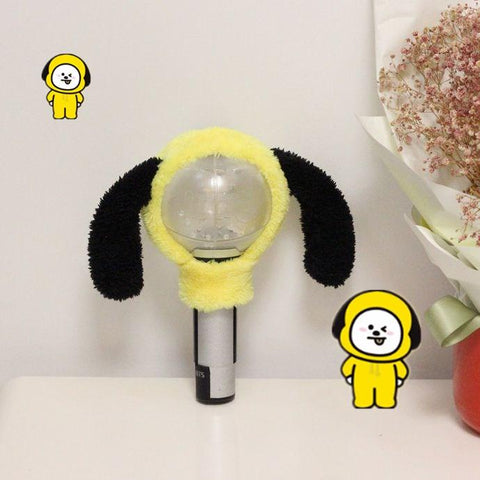 BT21 Army Bomb Cover- CHIMMY Lightstick Lunar Noona