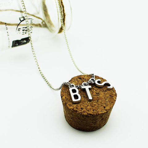 "BTS ""BTS"" Chained Necklace Jewelry Lunar Noona"