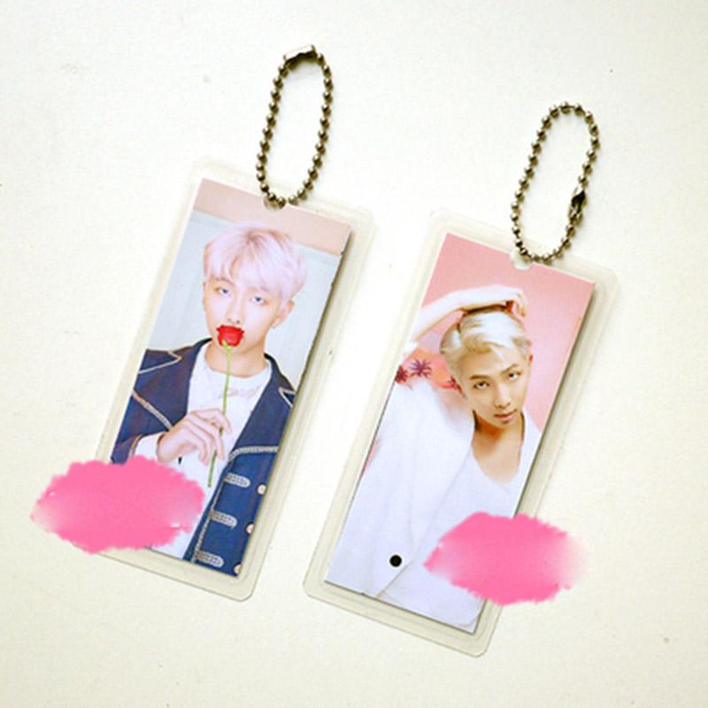 "BTS Map Of The Soul: Persona ""Persona Photoshoot"" Member Keychain- RM Keychain Lunar Noona"