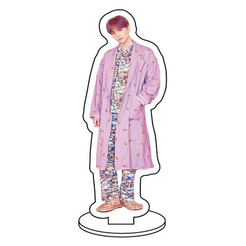 BTS Map Of The Soul: Persona Member Transparent Standing Figure- SUGA Accessories Lunar Noona