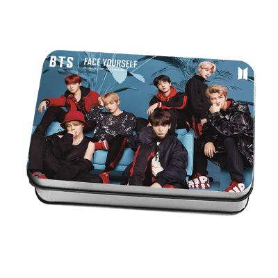 "BTS Face Yourself ""Concept Photos"" All Member 40 PC Signed Photocards Photocard Lunar Noona"