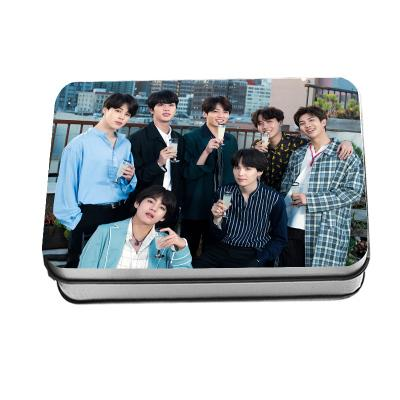"BTS ""5th Anniversary Photoshoot"" All Member 40 PC Signed Photocards Photocard Lunar Noona"