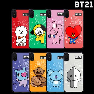 BT21 Character Animated Phone Cases Phone Cases Lunar Noona TATA iPhone 5/SE/5S