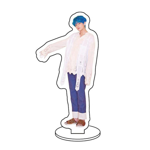 BTS Map Of The Soul: Persona Member Transparent Standing Figure- V Accessories Lunar Noona