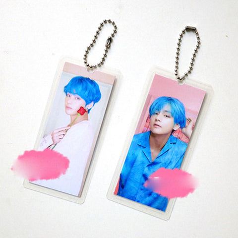 "BTS Map Of The Soul: Persona ""Persona Photoshoot"" Member Keychain- V Keychain Lunar Noona"
