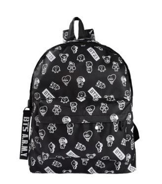 BT21 ARMY School Backpack
