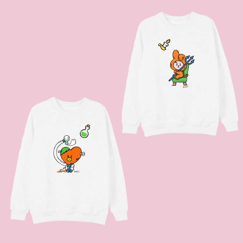 BT21 Halloween Exclusive Character Sweater