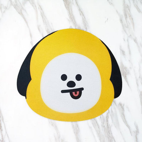 BT21 Mousepad- CHIMMY Electronics Lunar Noona
