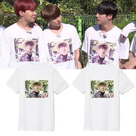 BTS Hawaii Vacation T-Shirt- JUNGKOOK Short Lunar Noona