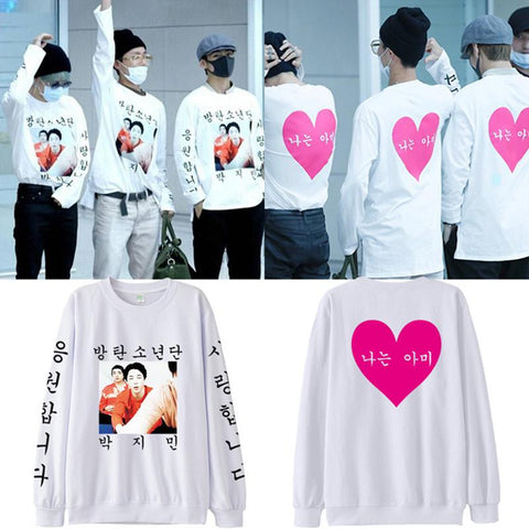BTS 방탄소년단 Bulletproof Boy Scouts Sweater- JIMIN | J-HOPE | V Sweaters Lunar Noona