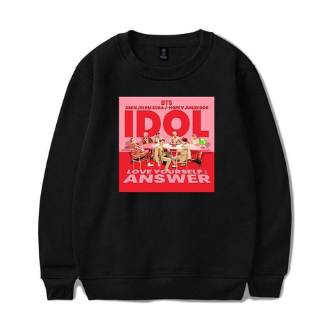 "BTS Love Yourself: Answer ""Idol"" Sweater Sweaters Lunar Noona"
