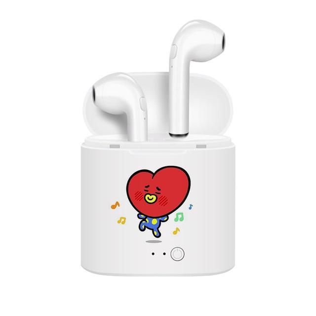 BT21 Wireless Earbuds & Charging Case- TATA Earbuds Lunar Noona Default Title
