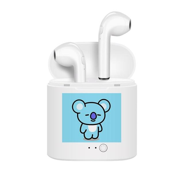BT21 Wireless Earbuds & Charging Case- KOYA Earbuds Lunar Noona Default Title