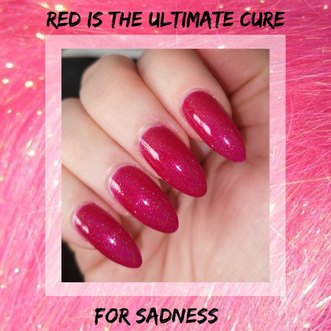 Red Is The Ultimate Cure For Sadness